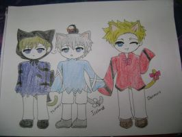 APH: Kitty Norway, Iceland and Denmark by SilverReira