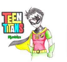 Robin from the Teen Titans by SC2Battousai