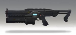 Corp Assault Rifle by TheRollingMan