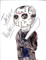 Jason Voorhees Chibi by HorrorMadnessPeep