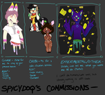 2015 COMMISSIONS by ARCADE-PUNK