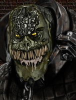 Killer Croc by ZippingMeteor