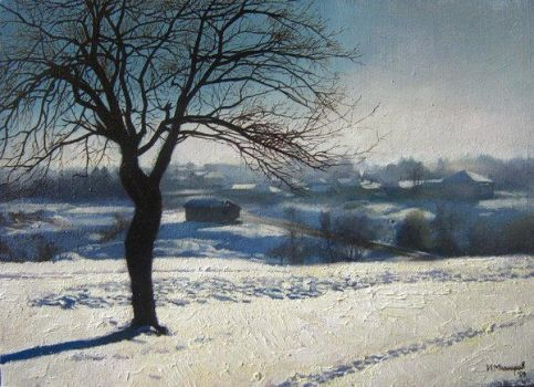 Winter landscape 1 by bulgaria
