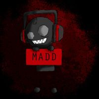 MADD-Mascot by BlackCalico