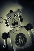 50's Tin Robot by cjsphoto
