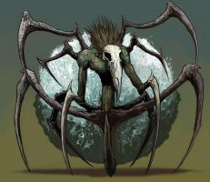Spider Demon Coloured by JohnnyTHL