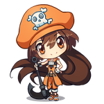 Guilty Gear - May Chibi by cubehero