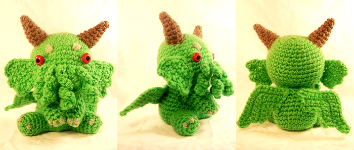 Baby Cthulhu by RainbowReverie