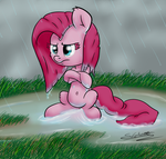 Wet and Mad by schizophrenicGhost