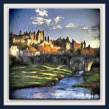 Carcassonne by Maitrezen