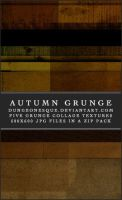 Autumn Grunge Textures Set by dungeonesque