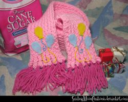 Pinkie Pie Scarf 1 by SmilingMoonCreations