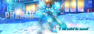 Facebook Cover | Pharah (Overwatch) by MissYeny