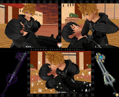 Mmd  Our First And Last Kiss    By Roxasxiiia by roxasprincess13