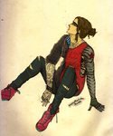 Hipster Series: Bucky by Atomic-pizza
