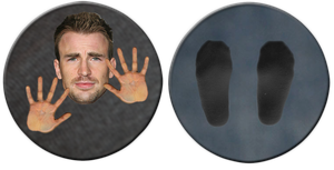 Chris Evans disc by jaredofmo