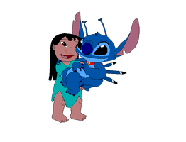 Lilo and Stitch by Fluttershy626