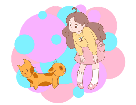 Bee and PuppyCat(Dog) by RockmanGurl
