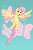 Fluttershy, sing in spring by LXYacht