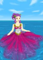 The Dress in the Sea by BrittanyJustus