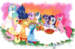 A Pony Thanksgiving by AnScathMarcach