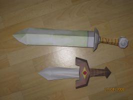 Swords from zelda games by killero94