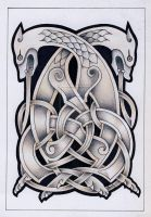 Celtic beast2 tattoo by Tattoo-Design