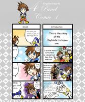 KH 4panel comic 1 by yellowhima