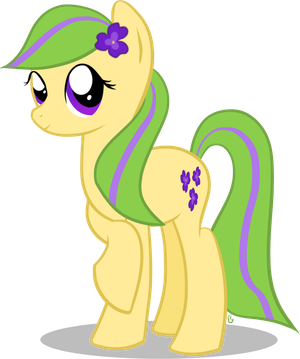 Purple Pansy (RE-Revamped) by equinepalette
