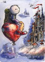 Backpacker by Starshrouded