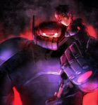 Dark Baymax and Hiro by tttttengo