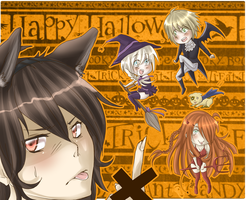 Happy Halloween 2011 by HatoriKumiko