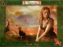 Capricorn of the Zodiac by zoozee