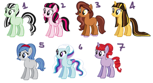 Monster High Themed Adoptables (CLOSED) by BronyBase