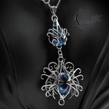 ATHNARDIAL - Silver and Blue Topaz by LUNARIEEN