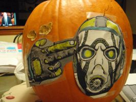 making the borderlands pumpkin by thecolorfulspider