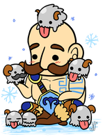Braum and Babes by NamiOki