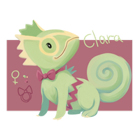 Clara Ref Sheet by nuttychooky