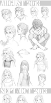 Sketch Select - 2013: August to October by Maivry