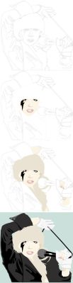 LADY GAGA progression by SkinnyJeanPunk