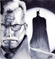 Commissioner Gordon NYCC by gattadonna