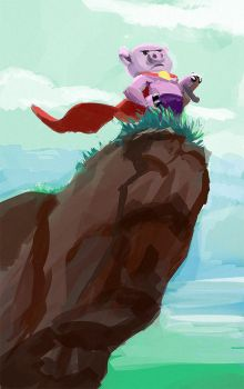 30 min SPeedpainting - A Pig Tale by ICart-Paint