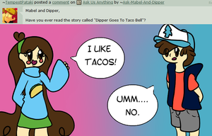 Umm....No by Ask-Mabel-And-Dipper
