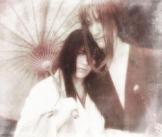 Tomoe and Kenshin - Cosplay by zombie-jill