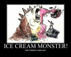 ice cream monster by fallen-angle-95