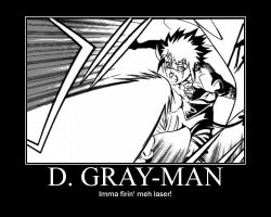 D. Gray-man Funny Poster by XWindRunnerX25