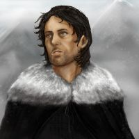 Jon Snow by yakuzafish