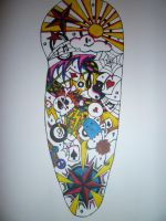 Coloured Half Sleeve by aalleeexx