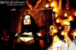 Mother Confessor - Strength. Justice. Purity...? by DrivenByDesperation