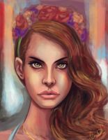 Lana Del Rey by pandatails